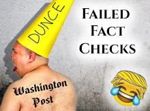 Washington Post Failed Fact Checks