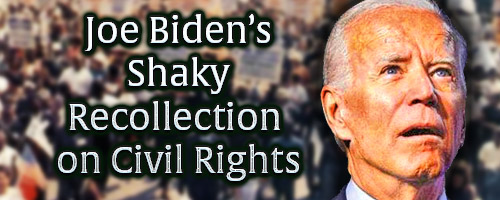 Joe Biden Shifting Recollection