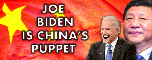 Joe Biden China Puppet