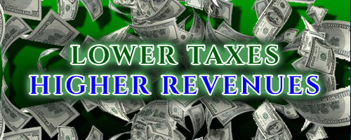 Lower Taxes Higher Revenues
